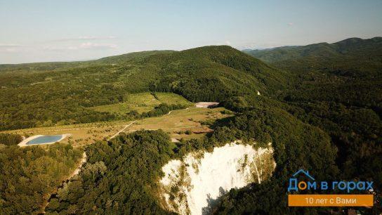 01 Белая гора. Виды с дрона на участок (2)